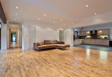 Open plan living room Stock Photo