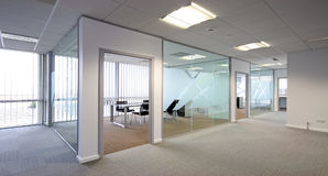 Open plan office Stock Photography