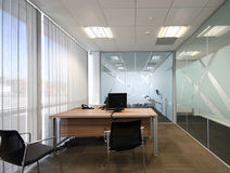 Open Plan Office Stock Photo