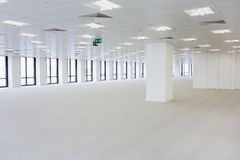 Open plan office area Royalty Free Stock Images