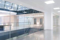 Open plan office reception Stock Photos