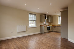 Open Plan Reception Room Stock Images
