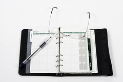 Open planner Royalty Free Stock Image