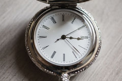 Open pocket watch Royalty Free Stock Photography
