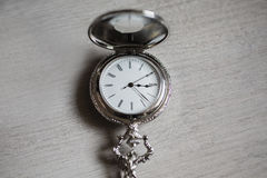 Open pocket watch Stock Photography