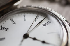 Open pocket watch Royalty Free Stock Image