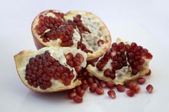Open pomegranate Royalty Free Stock Images