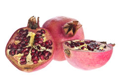 Open pomegranate Stock Image