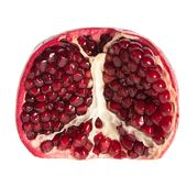 Open pomegranate Stock Photo