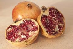 Open pomegranate Royalty Free Stock Photos