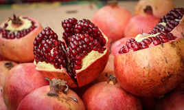 Open pomegranate Royalty Free Stock Photography