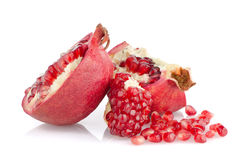 Open pomegranate with seed Royalty Free Stock Images