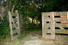 Open poort Royalty-vrije Stock Foto