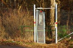 Open poort Stock Afbeelding