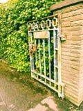 Open poort Royalty-vrije Stock Foto's