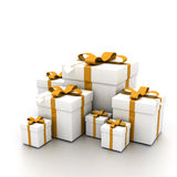 Open Present Stock Photography
