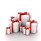 Open Present Royalty Free Stock Photo