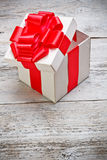 Open present box Royalty Free Stock Image