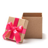 Open Present Box - Stock Photo Royalty Free Stock Photo