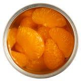 Open puede de mandarines Fotografía de archivo
