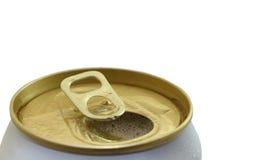Open puede para la bebida fresca Fotografía de archivo
