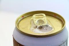 Open puede para la bebida fresca Imagen de archivo libre de regalías