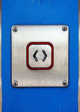 Open Push Button Royalty Free Stock Image