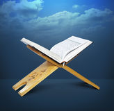 Open Quran Stand Stock Photos