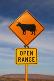Open range sign Royalty Free Stock Photos
