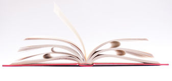 Open red book Royalty Free Stock Image