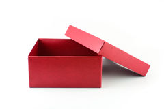 Open red box Royalty Free Stock Photography