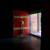 Open the red door Stock Photos