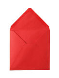 Open red envelope. Stock Images
