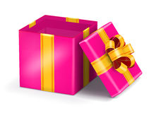 Open red gift Royalty Free Stock Photos