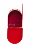 Open Red Mailbox Royalty Free Stock Images