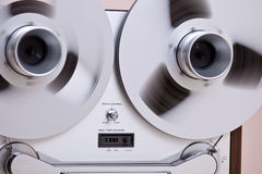 Open Reels For Professional Sound Recording Royalty Free Stock Images