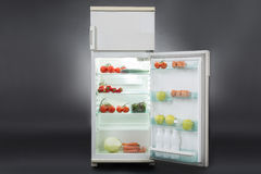 Open Refrigerator Full Of Food Royalty Free Stock Photo