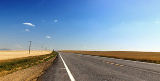 Open road Stock Image