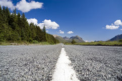 Open Road. Open country road in the Scottish highlands royalty free stock images