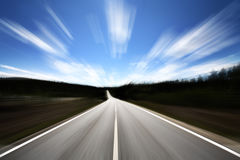 Open Road Royalty Free Stock Image
