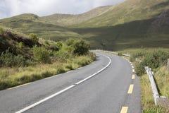 Open Road alongside Lough Killary Fjord Lake; Leenane, Connemara Royalty Free Stock Photography