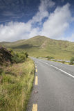 Open Road alongside Lough Killary Fjord Lake; Leenane, Connemara Stock Photography