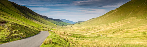 Open Road, Cumbria, UK Royalty Free Stock Photography
