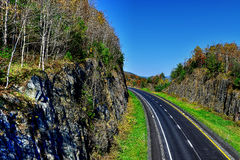Open road HDR Royalty Free Stock Photos