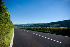 Open road and highway Stock Image
