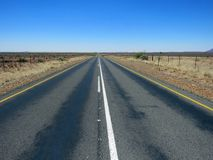 Open Road in the Karoo Stock Image
