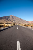 Open Road on Tenerife Stock Images