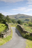 Open Road at Watendlath; Lake District Stock Photography