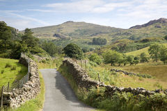 Open Road at Watendlath; Lake District Royalty Free Stock Images