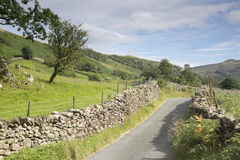 Open Road at Watendlath; Lake District Royalty Free Stock Photography